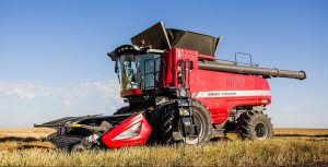 Massey Ferguson 9505 Series Combine in field