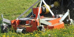 Muratori lawn mower attachment