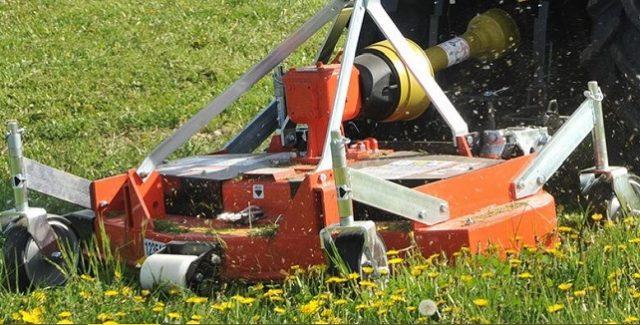 Muratori lawn mower attachment