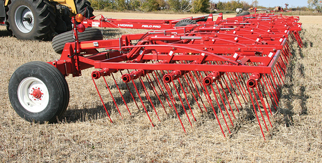 Morris Field Pro Heavy Harrow tillage farm equipment for sale at Hanlon Ag Centre in Lethbridge, Alberta.