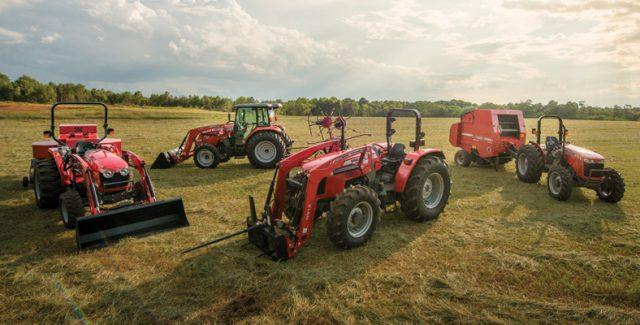 Massey Ferguson Compact Utility Hay Lineup
