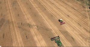 Topcon precision farming in field