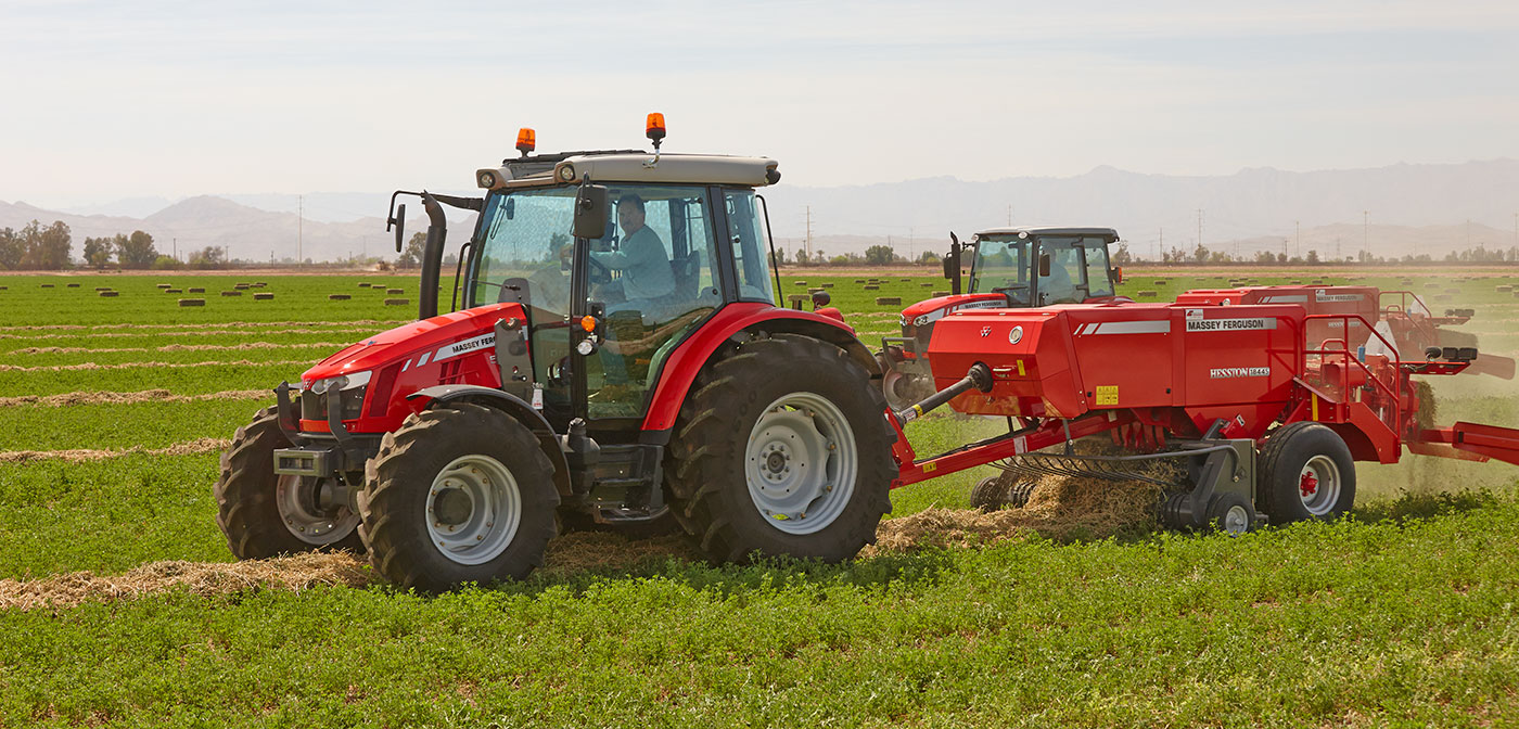 New and used Hesston by Massey Ferguson small square balers for sale at Hanlon Ag Centre in Lethbridge, Alberta, Canada. Compare MF 1836, MF 1838 and MF 1840 14x18 balers, MF 1842 16x18 baler, MF 1844N 16x18 baler and MF 1844S 15x22 baler models.