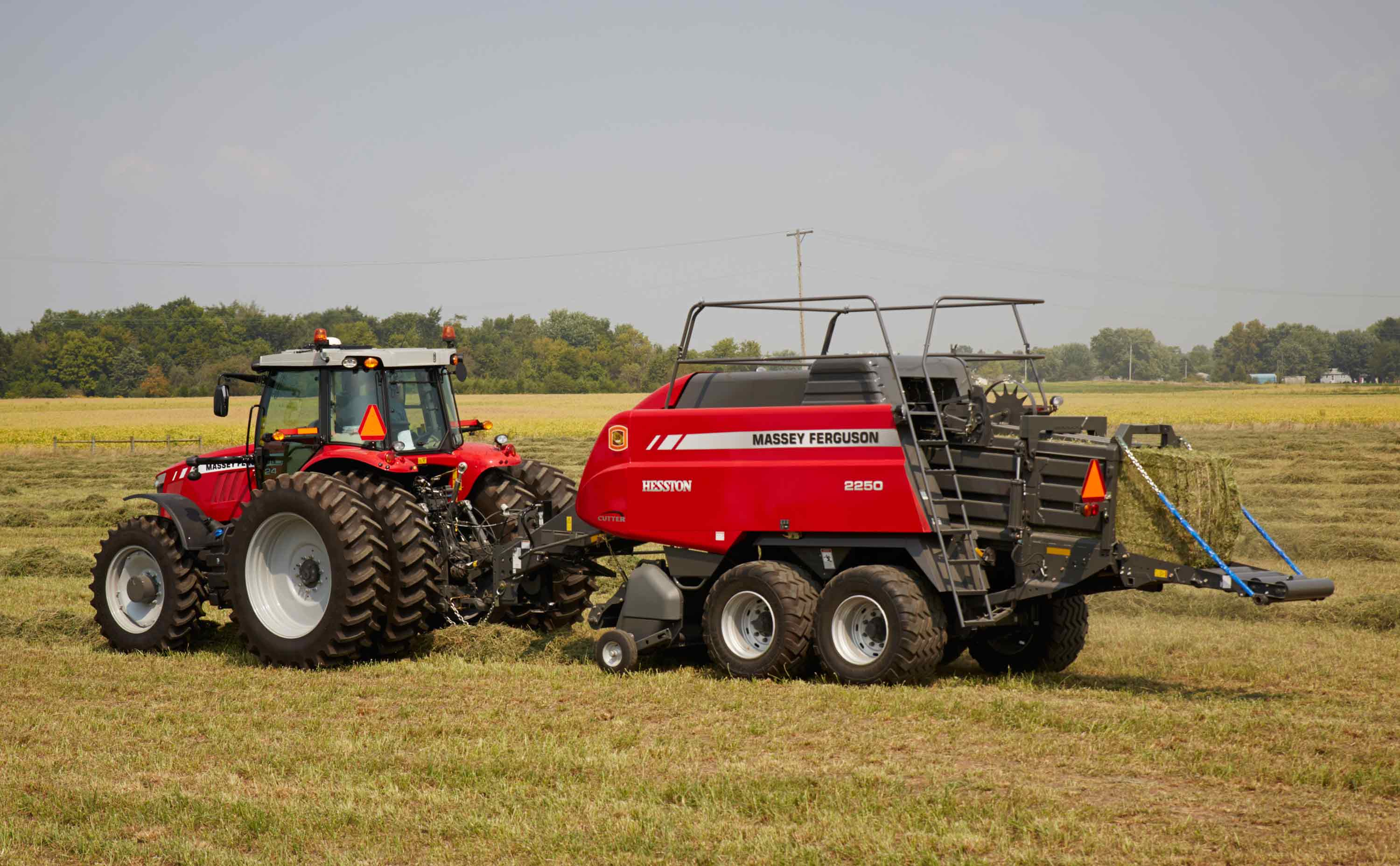 New and used Hesston by Massey Ferguson big square balers for sale at Hanlon Ag Centre in Lethbridge, Alberta, Canada. View our selection of 3x4 and 4x4 big square balers. We carry Massey Ferguson 2270, 2290 and 2270XD cutter balers. We are leading supplier of hay and forage equipment to the region.