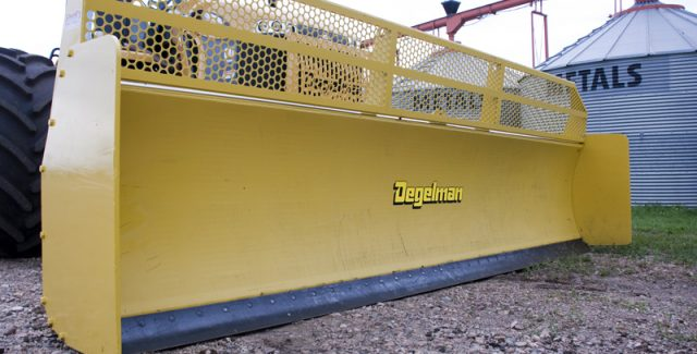Degelman dozer blades for sale at Hanlon Ag Centre in Lethbridge, Alberta