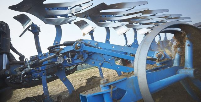 Lemken Juwel plough sold and serviced at Hanlon Ag Centre in Lethbridge, Alberta. Reversible plough with turn control.