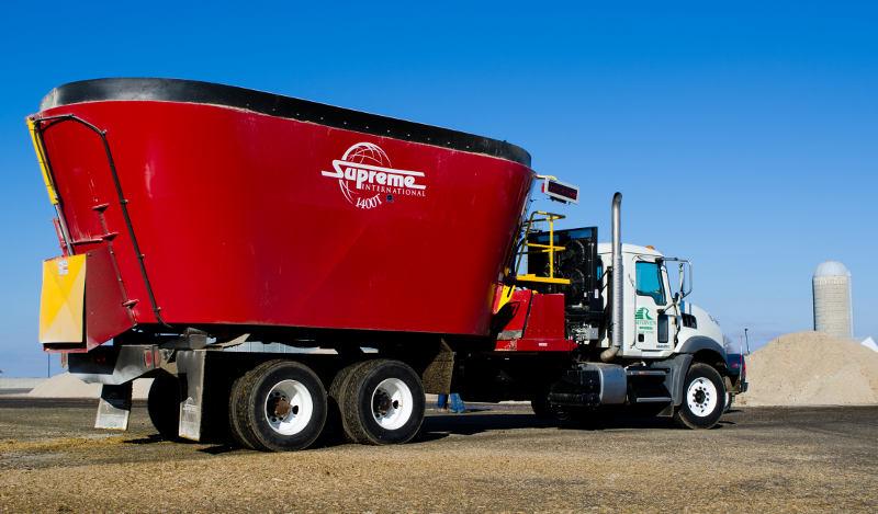 truck mount hydrostatic drive