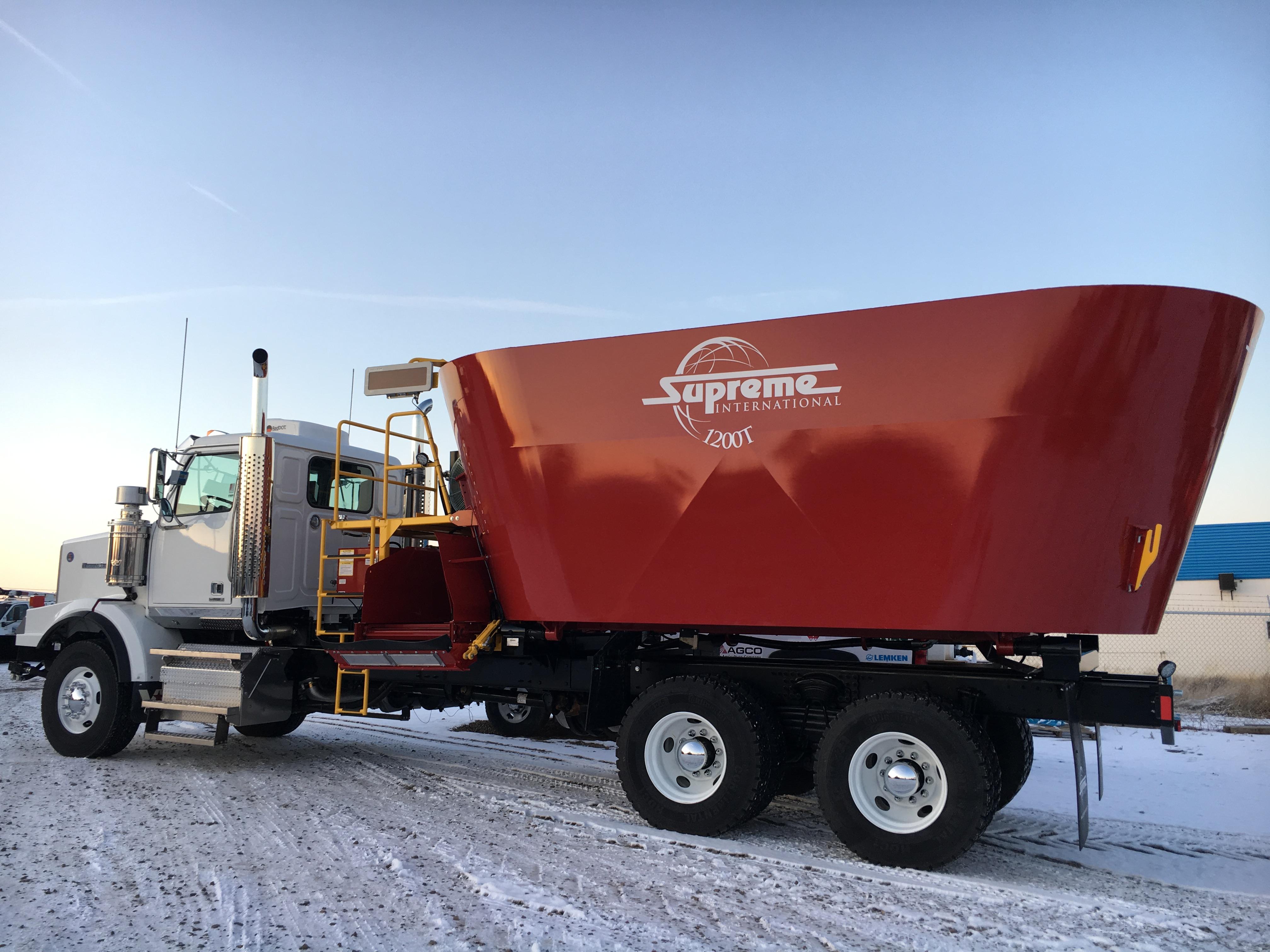 Supreme 1200T Truck Mount