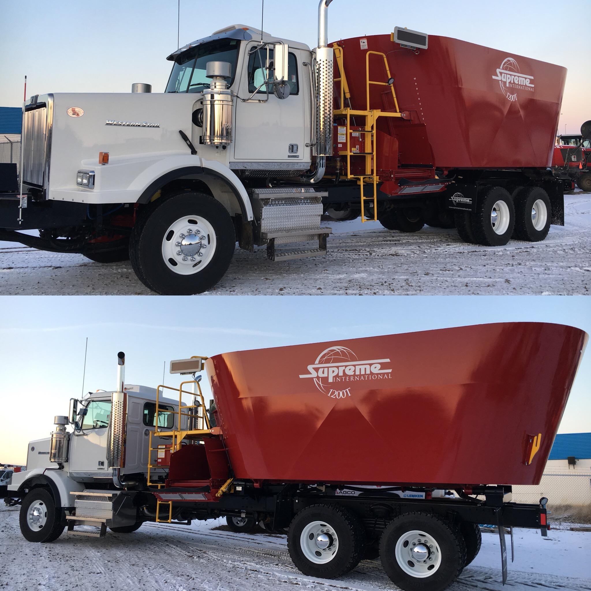 Supreme 1200T Truck Mount Hydrostatic Drive