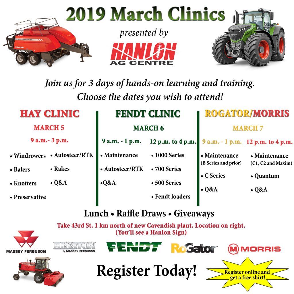 Hanlon Clinics 2019
