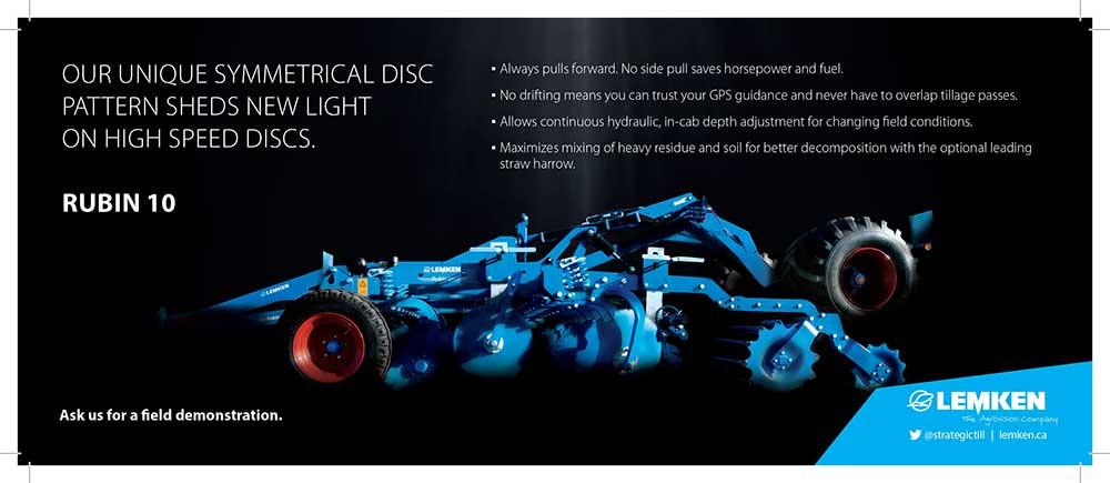 Lemken Rubin 10, high speed disc, tillage, lemken, compact disc harrow