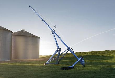 Brandt HP swing away auger, Brandt harvest auger