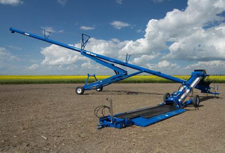 Brandt HP open top auger, Brandt swing away augers, brandt harvest augers