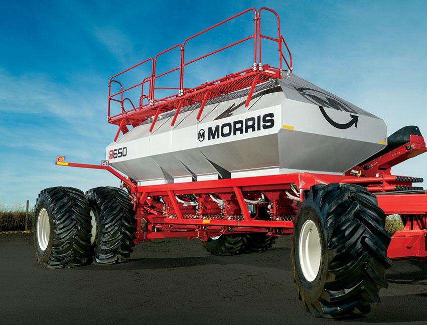 Morris 9 series Air Cart, seeding equipment, morris, air cart, Morris 9650 Air Cart
