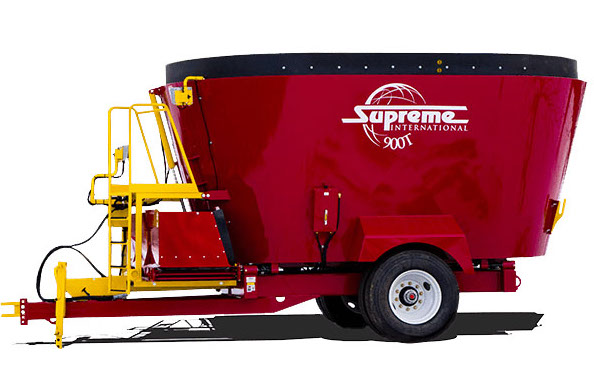 Supreme 900T pull type, supreme feed mixer, supreme 900t, Supreme feed wagon, supreme international, supreme pull type, pull type feed mixers