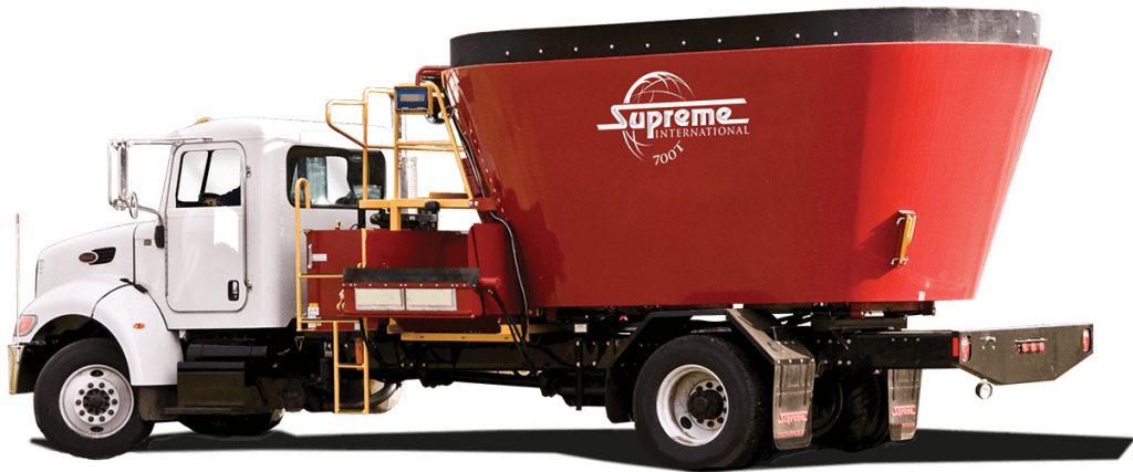 Supreme 700T Mechanical Drive Truck Mount, Supreme Feed Mixers, Supreme TMR Processors, Supreme International, Supreme 500T Truck Mount, Supreme 600T Truck Mount, Supreme 700T Truck Mount, Vertical Feed Processors