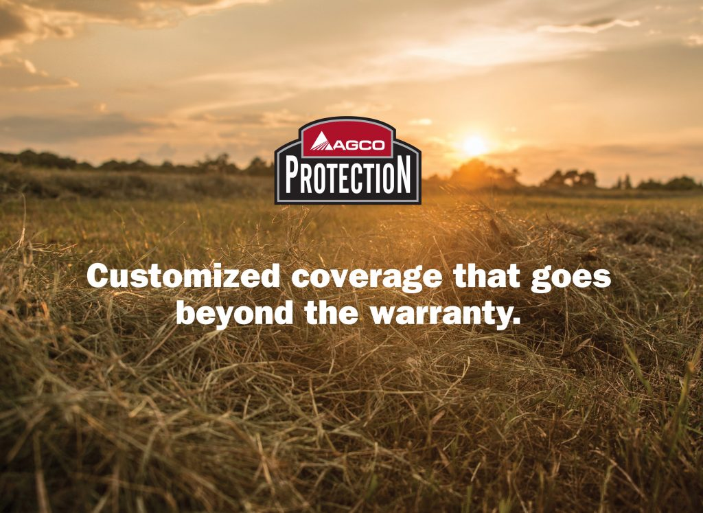 AGCO Protection, Extended warranty information, Used farm equipment extended warranty, new farm equipment extended warranty