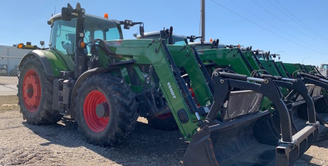 Used 2017 Fendt 724 Tractor for sale Lethbridge, Alberta, Canada, Special financing available for July