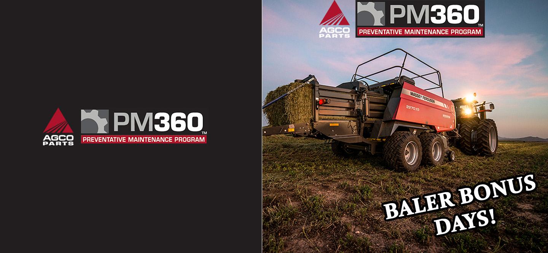 Baler PM360 Slider