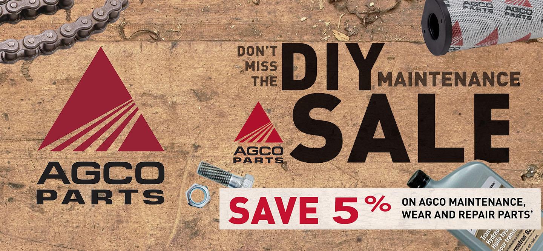 AGCO Parts Slider