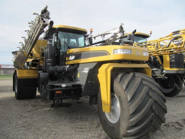 "2019 Terragator TG8300C floater with low hours on sale at Hanlon Ag Centre in Lethbridge, Alberta. Features 365 horsepower, advanced cab package, camera w/9"" monitor, fuel water separator, LED lights, Raven Viper 4 and controller, Trimble submeter, Raven slingshot, fan precleaner, amber beacon, Airmax precision, standard granular, 180 hours. Save on application equipment for the 2020 season."